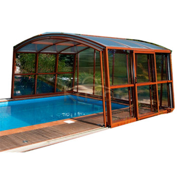 Sunroom Telescopics European Veranda With Aluminium Roof