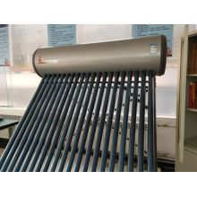 pressurized heat pipe solar water heater
