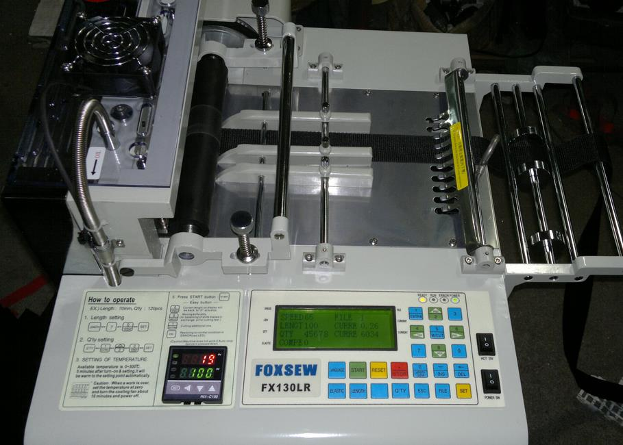Computer Tape Cutting Machine (Hot and Cold Knife)
