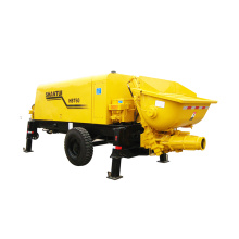 Best Quality for Diesel Trailer Concrete Pump Shantui  HBT60 New Trailer Pump supply to United States Factory