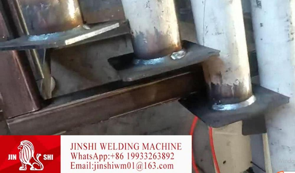 Automatic Production Machine for Steel Prop Scaffolding