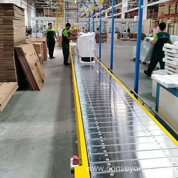 Stainless Steel Frame Slat Chain Plate Conveyor