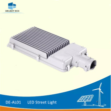 China New Product for Led Street Light DELIGHT DE-AL01 100W IP65 Solar LED Road Light supply to Canada Factory