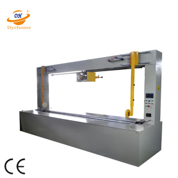 Radial PE film shrink wrapping machine