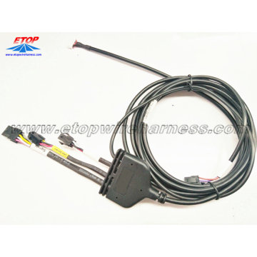 Auto wire assembly for Intelligent Traffic Warning System