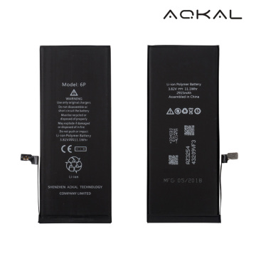 AAAA Grade iPhone 6 Plus-vervangende Li-ionbatterij