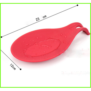 Customized for Kitchen Spoon Rest High Quality Silicone Spoon Holder Silicone Kitchen Rest supply to Central African Republic Exporter