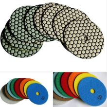 Fleksibel Diamond Floor Marmer Granite Dry Polishing Pad