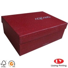 Customised luxurious packaging paper gift box