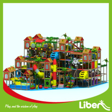 Soft indoor amusement playground