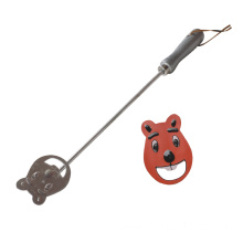 Free sample for Custom Branding Irons Funny bear-shaped bbq branding iron supply to Armenia Importers