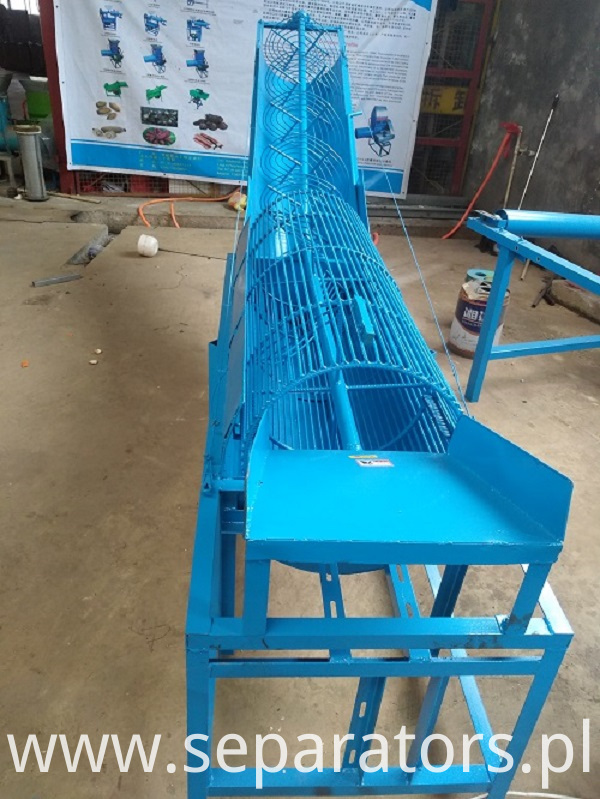 QX-200 radish cleaning conveyor
