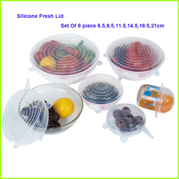 Best Selling Products 8 Packs Silicone Stretch Lids
