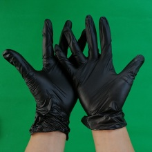 Vinyl gloves for food industrial grade powder free and powdered