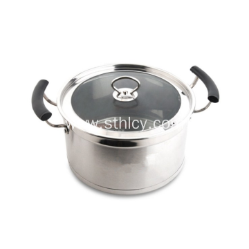 Top Quality 30cm Stainless Steel Sauce Pot