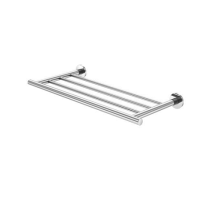 Bath towel holder Towel rack Wall-Mounted Towel shelf
