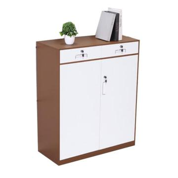 Metal filing cabinet cupboards with drawers