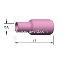 Cheapest Factory for Ceramic Suction Nozzle 10N Tig Welding Ceramic Nozzles export to Lebanon Suppliers