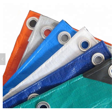 Heavy duty different color PE tarpaulin
