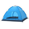 4 person pu coated waterproof taffeta tent Portable