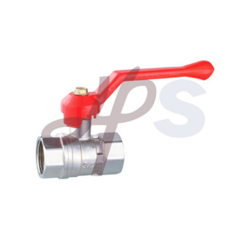 Brass full port ball valve with zinc alloy handle