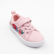 Pink And Black And White Casual Shoes