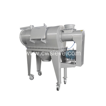 Flour/coffee powder/green tea centrifugal sifter