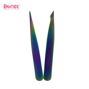 Multi Rainbow Color Pointed & Hook Best Tweezer