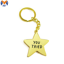 Design your own metal star keyring