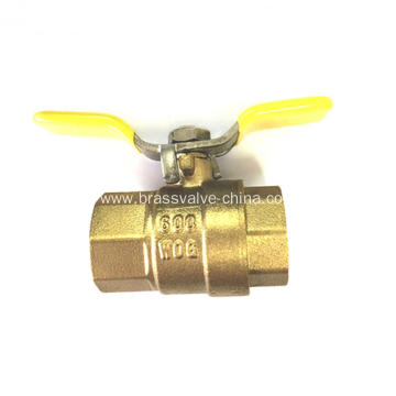 NSF free lead brass ball valves