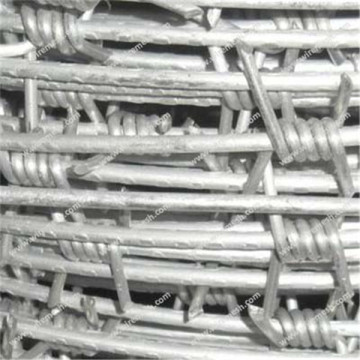 Aluminum clad steel barbed wire