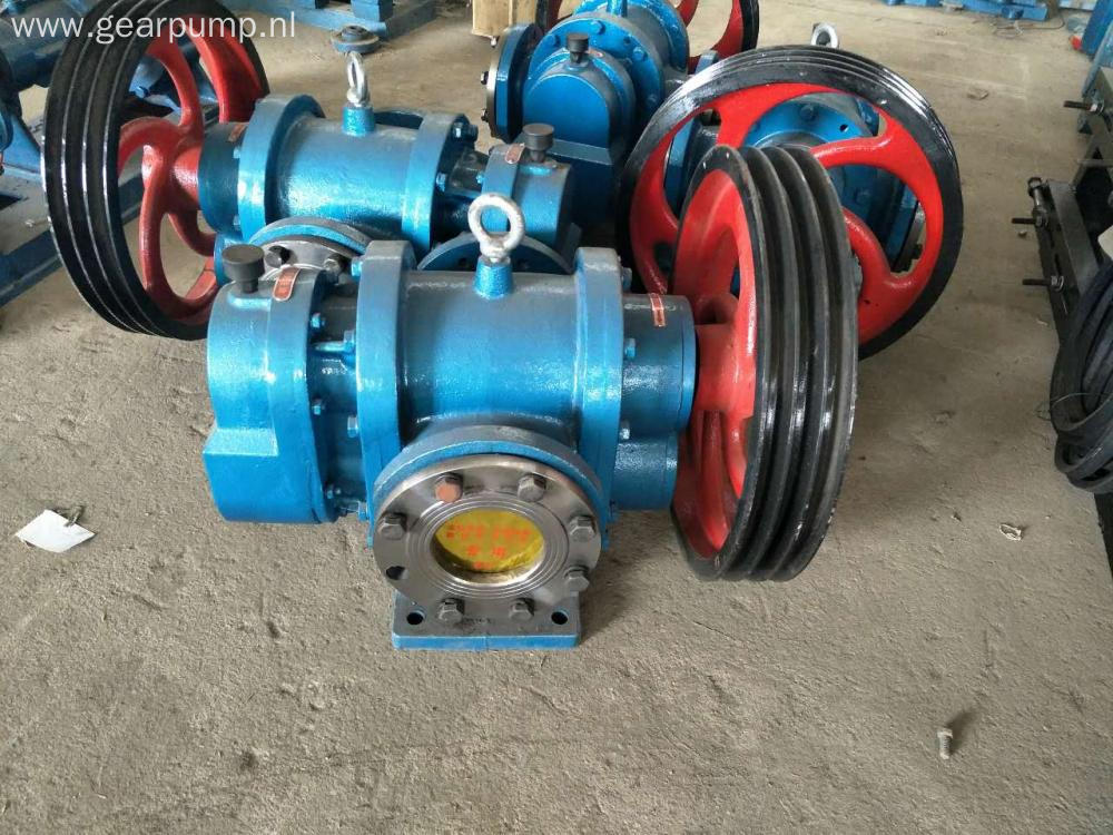 Pulley Belt Driven High Viscosity Lobe Pump