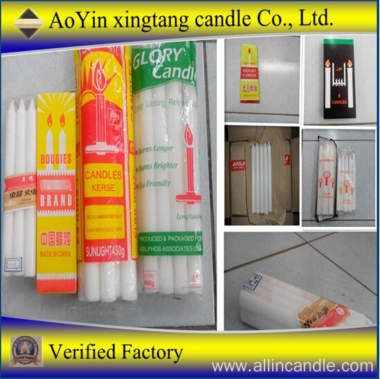 Abundant Stock New Style Home Fluted Candle