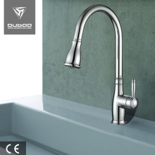 China for Single Lever Kitchen Faucet One Handle Long Neck Kitchen Sink Mixer Tap supply to India Supplier