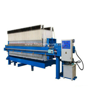PLC Controlling Hydraulic Cast Iron Filter Press