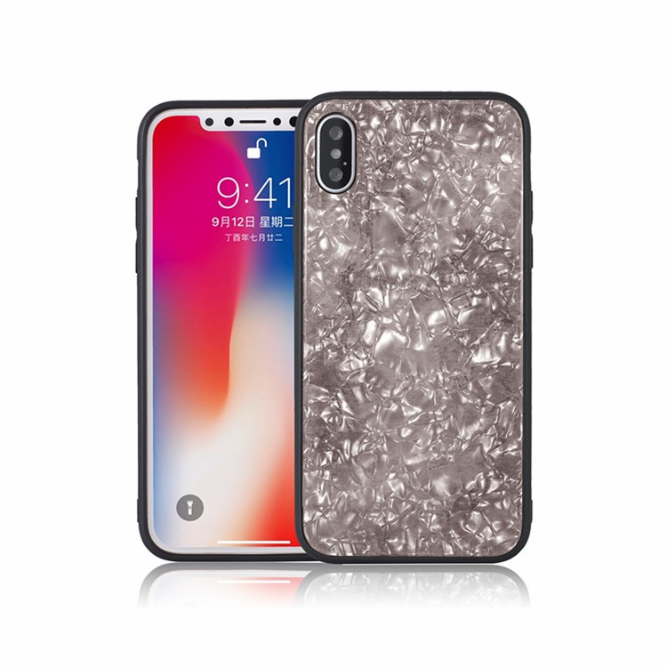 Tempered Glass Back Case iPhone X