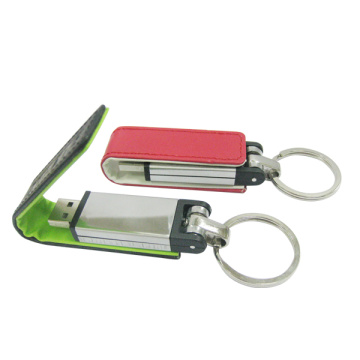 Large Capacity Leather Usb Flash Drive Gift