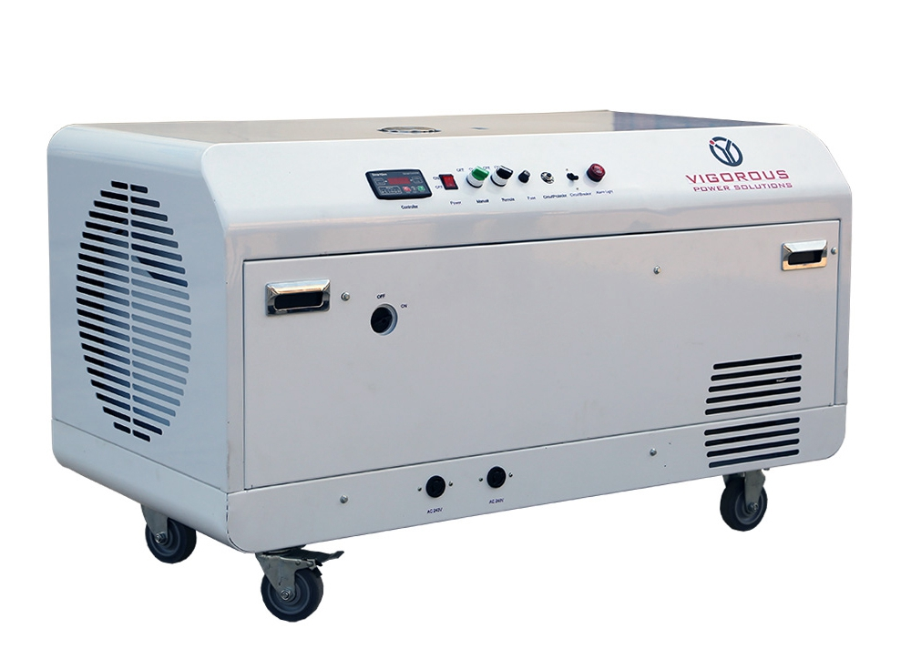 8000 watts Silent Natural GasLPG Generator for Home Use