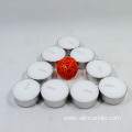 Unscented Red Tea Light Candles in Bulk