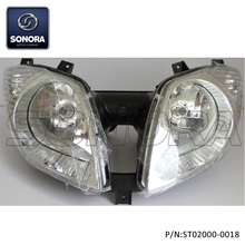 QINGQI QM125T-10 Head light (P/N:ST02000-0018) Top Quality