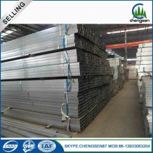 19mm*19mm Square hollow section type galvanized steel tube
