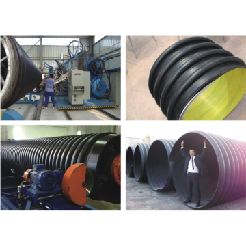 Large Diameter Corrugated Pipe Extrusion Line