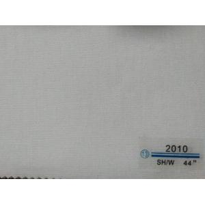 Hot-selling attractive for Non Fusible Waist Interlining woven non fusible interlining white color width 112cm supply to Lebanon Supplier