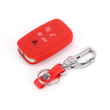 Silicone Car Key Case For Land Rover