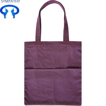 Custom large size single shoulder canvas bag