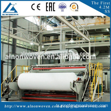 S/SS/SSS/SMS PP Spunbond Nonwoven Winding Machine