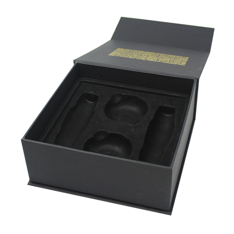 Black Rigid Cardboard Perfume Storage Box