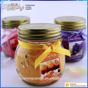 Good Quality Scented Jar Glass Candle