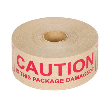 Kraft paper custom printing logo tape for packing