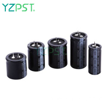 Resistance to high ripple small size electrolytic capacitor